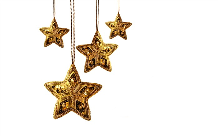 Picture- Golden Christmas Star ornament- Christmas objects Views:13129