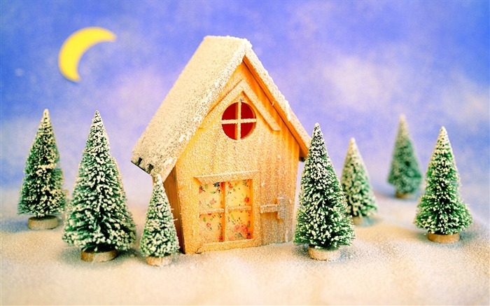 Picture- Lovely Christmas Toy House- Christmas Decorations Views:5849