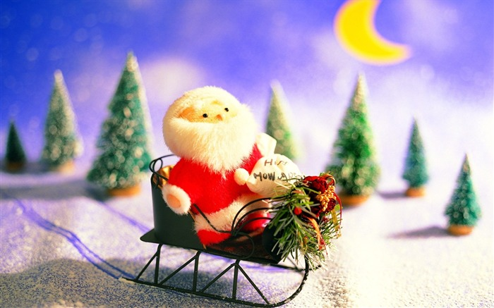 Picture- Lovely Toy Sana Claus- Christmas Decorations Wallpaper Views:5441