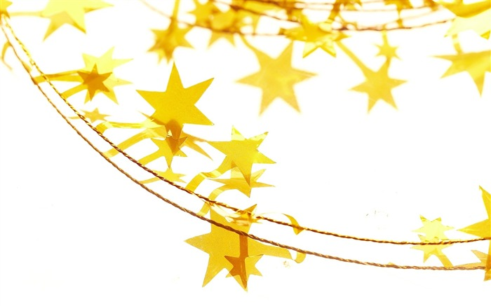 Picture- Yellow Christmas Star ornament- Christmas objects Wallpaper Views:12892