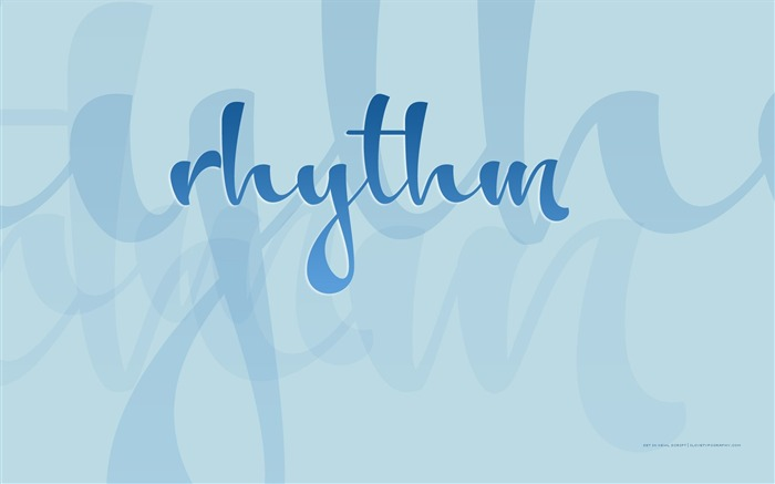 Rhythm wallpaper Views:4390