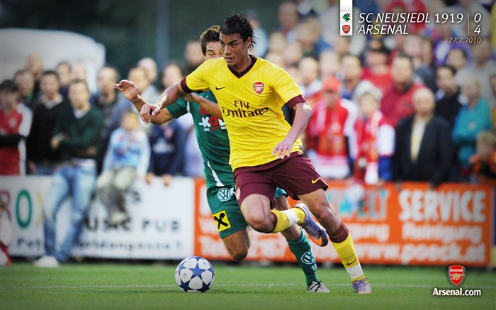 SC Neusiedl 1919 0-4 Arsenal Wallpaper Views:5597 Date:7/11/2011 7:25:15 AM