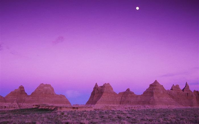 South Dakota- Badlands National Park Wallpaper Views:4087