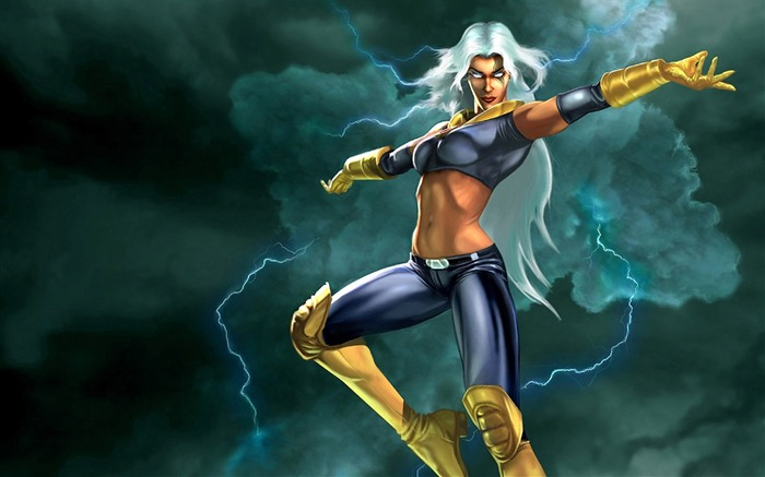 Storm female illustrator-X-Men Legends game wallpaper Views:12681 Date:7/18/2011 4:48:50 PM