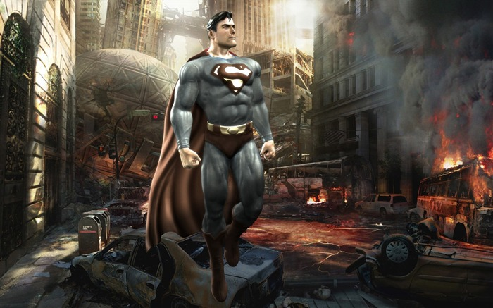 Superman in Mortal Kombat VS DC Universe Game Wallpaper Views:19556 Date:7/18/2011 4:49:07 PM