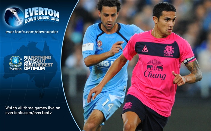 Sydney FC 0-1 Everton Tim Cahill Wallpaper Views:7167 Date:7/18/2011 5:39:43 PM