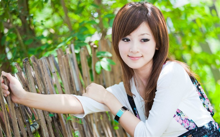 Taiwan beautiful girl MM mikao wallpaper Views:30080