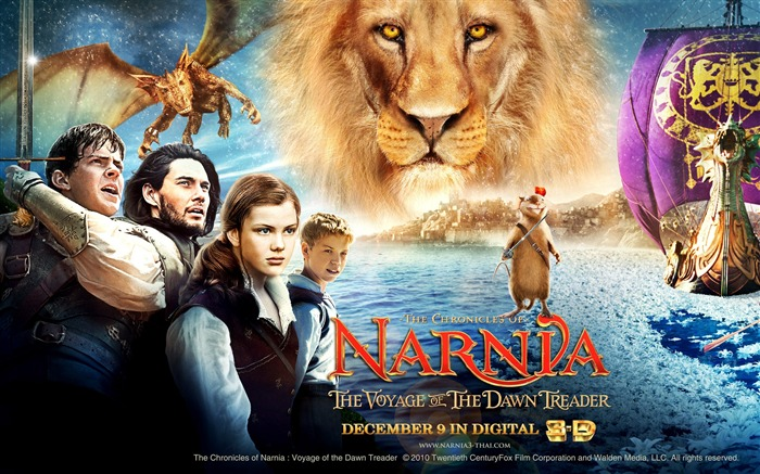 The Chronicles of Narnia 3 The Voyage of the Dawn Treader Movie Wallpapers 13 Views:12049 Date:7/2/2011 5:48:36 PM