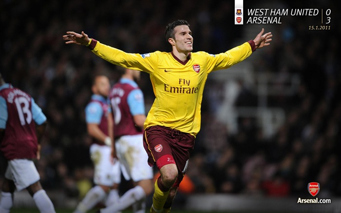West Ham United 0-3 Arsenal Wallpaper Views:8247 Date:7/11/2011 7:26:30 AM