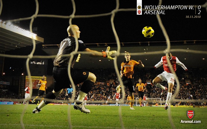Wolverhampton Wanderers 0-2 Arsenal Wallpaper Views:6323 Date:7/11/2011 7:26:56 AM