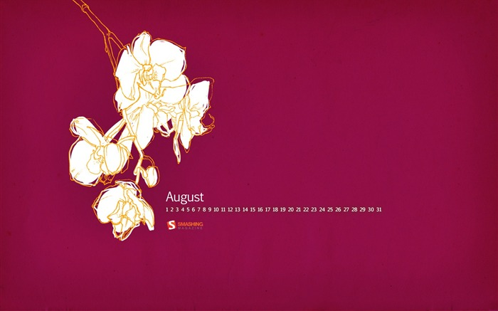 2011-august-wallpaperOrchid Flower Views:5731 Date:8/1/2011 9:39:27 PM