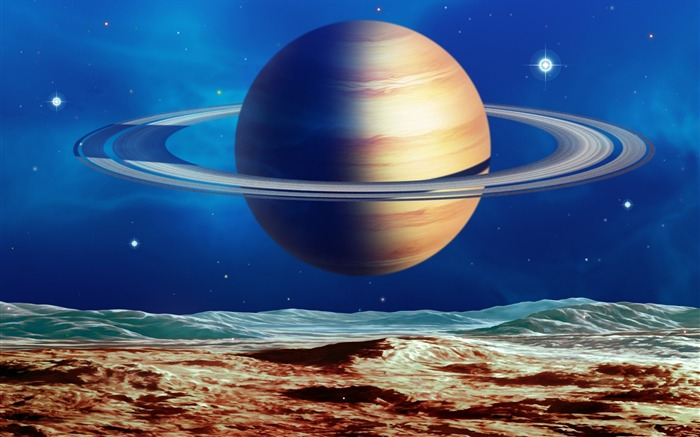 23 CG illustrator space planet universe-space-planet picture Views:6290