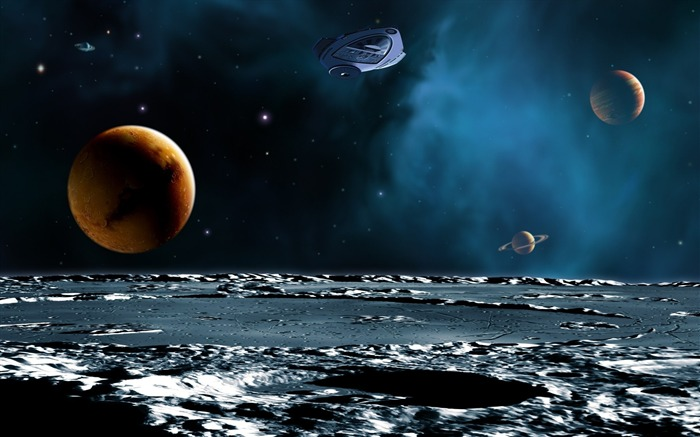 36 CG illustrator space planet universe-space-planet picture Views:4130