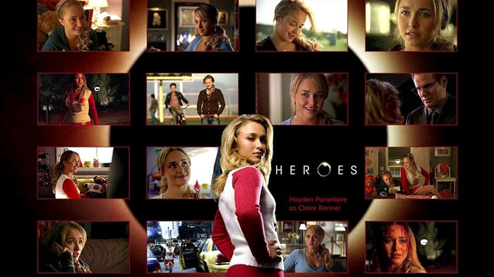 American TV series-Heroes HD Wallpaper-Second Series-Claire Bennet 02 Views:3694 Date:8/1/2011 9:23:40 AM