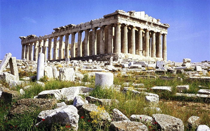 Athens Greece-Parthenon wallpaper Views:33179 Date:8/31/2011 5:06:37 AM