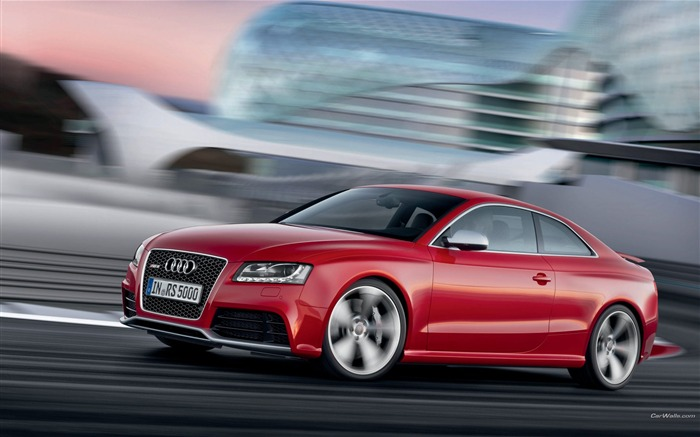 Audi RS5 desktop wallpaper Views:13738