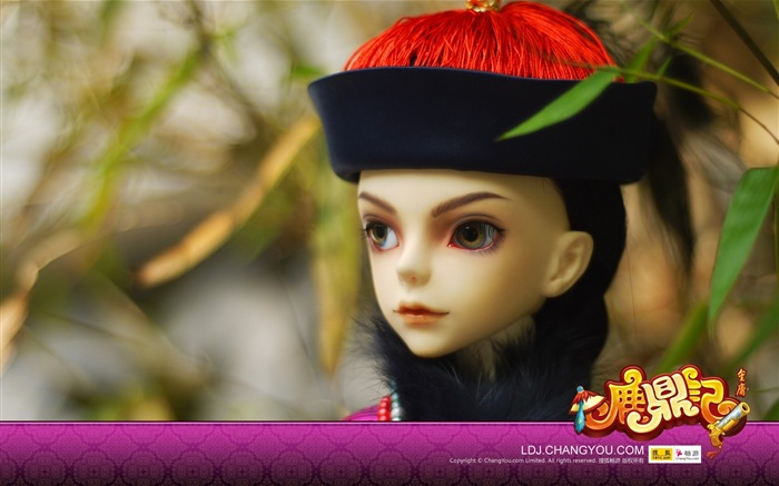 BJD Wei Xiaobao wallpaper version Views:3859