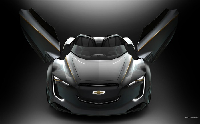 Chevrolet Mi-ray Roadster Concept Views:6367