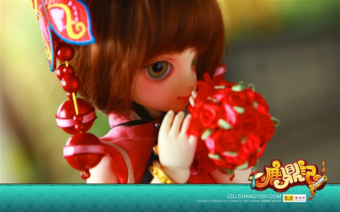 Deer - Wei both BJD dolls wallpaper Views:4243