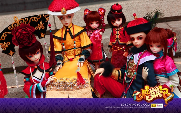 Deer customized version of the costume modeling humanoid dolls wallpaper Views:2872