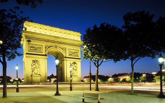 France-Arc de Triomphe at night wallpaper Views:21690 Date:8/31/2011 4:38:58 AM