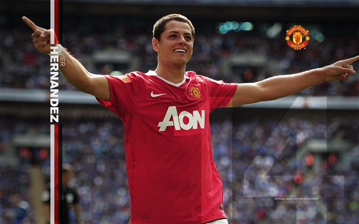 Javier Hernandez wallpaper Views:7531