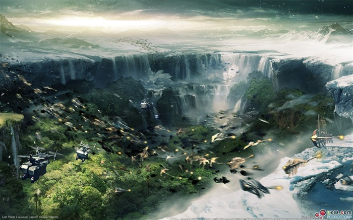 Lost Planet 2 HD Game Wallpaper Views:13456