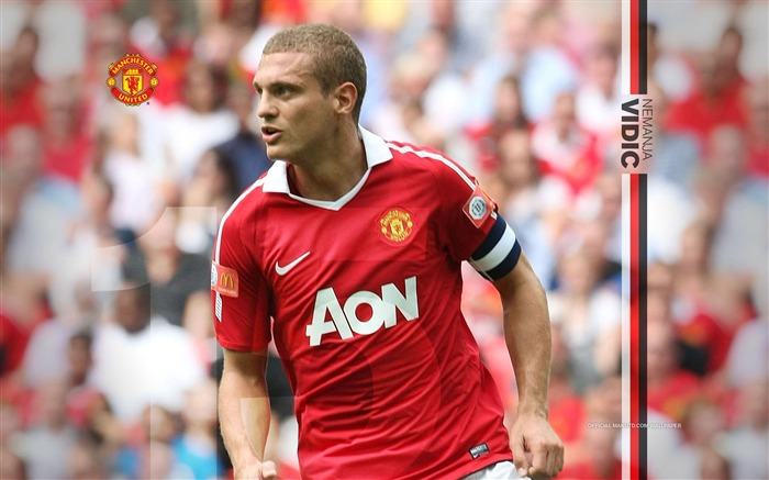 Nemanja Vidic wallpaper Views:10984