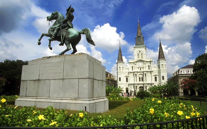 New Orleans-Jackson Square Wallpaper Views:8652 Date:8/31/2011 5:04:35 AM