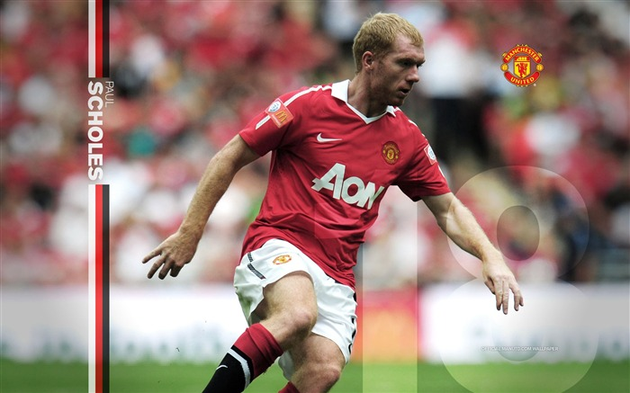 Paul Scholes wallpaper Views:8600