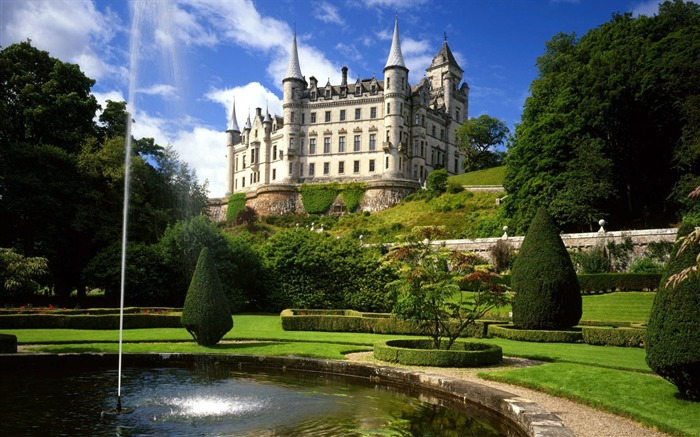 Scotland-Deng Luobin Castle Wallpaper Views:8393 Date:8/31/2011 4:51:21 AM