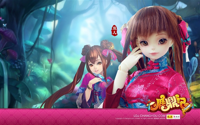 Shuanger BJD doll wallpaper 01 Views:4994