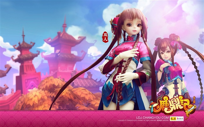 Shuanger BJD doll wallpaper 03 Views:5304