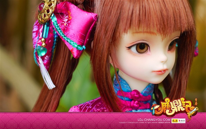 Shuanger BJD doll wallpaper Views:6743