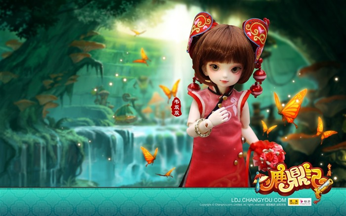 Wei both BJD doll wallpaper Views:16332