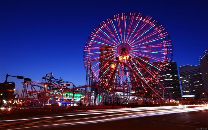 Yokohama Ferris Wheel wallpaper Views:9823