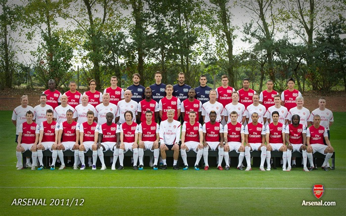 Arsenal First-Team Squad 2011-12 Views:17996