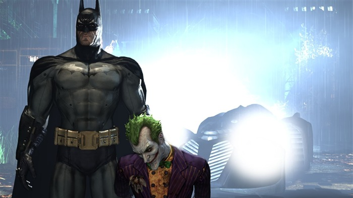 Batman Arkham City game wallpaper 01 Views:7537