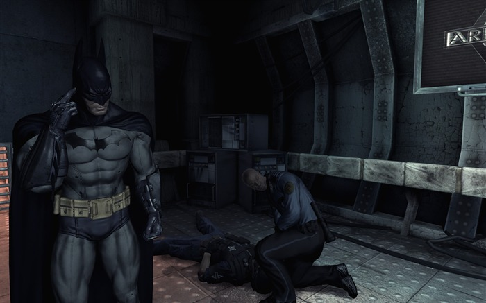 Batman Arkham City game wallpaper 06 Views:4411
