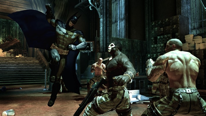 Batman Arkham City game wallpaper 11 Views:4075