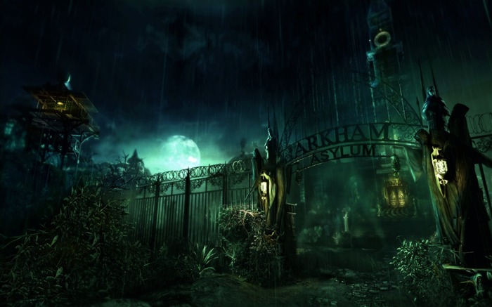 Batman Arkham City game wallpaper 15 Views:7266