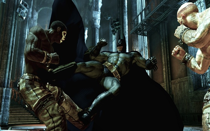 Batman Arkham City game wallpaper 26 Views:3048