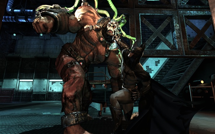 Batman Arkham City game wallpaper 32 Views:3338