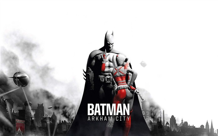 Batman Arkham City game wallpaper Views:12986