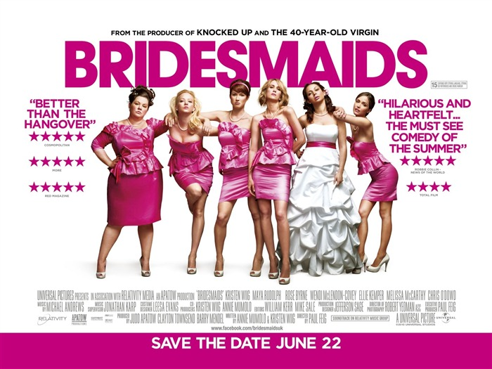 Bridesmaids Movie Wallpaper Views:7438