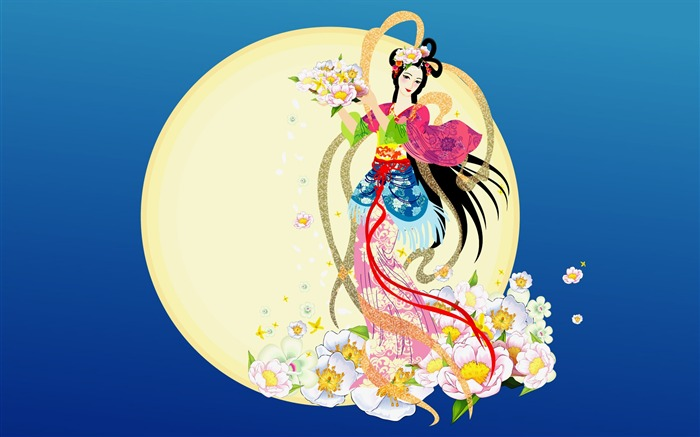 Chang-e flies to the moon- Mid-Autumn Festival special edition wallpaper 06 Views:6220
