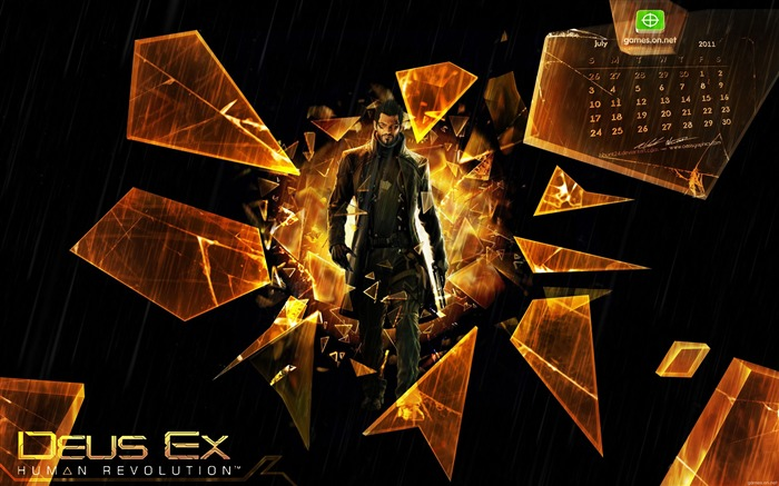 Deus Ex- Human Revolution Game HD Wallpaper Views:7200