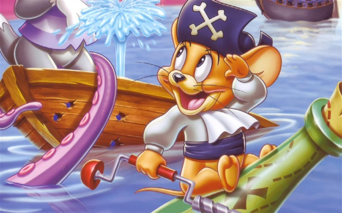 Disney Jerry Cartoon character - HD Desktop Wallpaper Views:24863