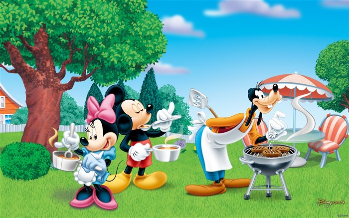 Disney cartoon - Mickey - Mickey Mouse wallpaper second series Views:22660