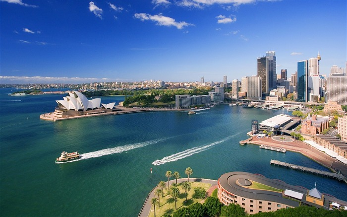Downtown Sydney Australia-Traveled the world Photography Wallpaper Views:6840 Date:9/27/2011 10:10:23 AM
